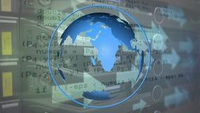 地球和代码 股票视频