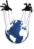 地球和现有量 免版税库存图片