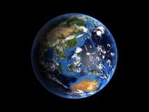 地球喂行星res 免版税库存图片