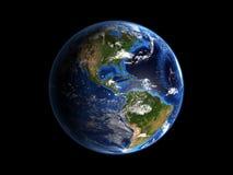 地球喂行星res 库存照片