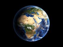 地球喂行星res 库存图片