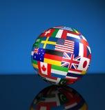 地球国际性组织事务 库存例证