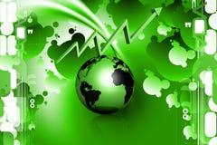 地球图形 免版税库存照片