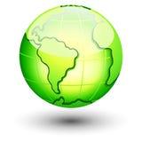 地球图标 免版税图库摄影