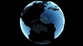 地球圈自转 皇族释放例证