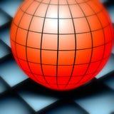 地球在船上 免版税图库摄影