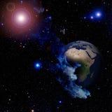 地球地球行星世界 免版税库存图片