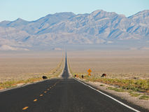 地球外的高速公路   免版税图库摄影