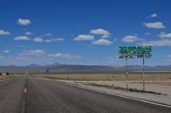 地球外的高速公路 免版税库存照片