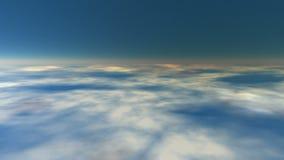地球大气(无缝的圈) 向量例证