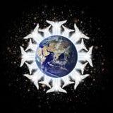 地球天使 库存照片