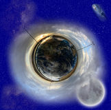 地球天堂 库存照片