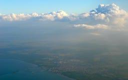 地球天空 免版税库存图片