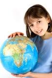 地球女孩藏品 库存照片