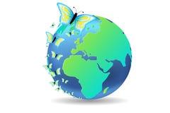 地球季节春天 皇族释放例证