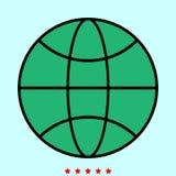 地球它是颜色象 免版税库存照片