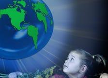 地球安全 库存照片
