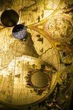 地球定位 库存图片
