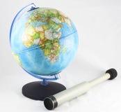 地球小望远镜 库存照片