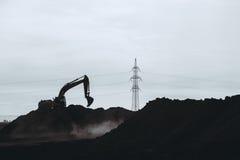 地球工作和建筑 图库摄影