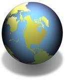 地球影子 库存照片