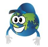 地球微笑 免版税库存图片
