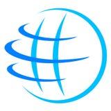地球徽标 免版税库存照片