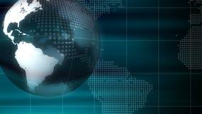 地球技术背景圈 库存例证