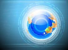 地球技术 库存照片