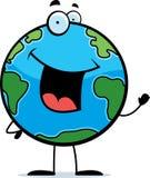 地球挥动 免版税图库摄影