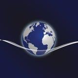 地球摘要 库存图片