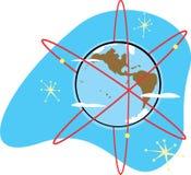 地球收音机 库存图片