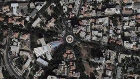 地球放大在达喀尔塞内加尔之外的徒升 股票视频