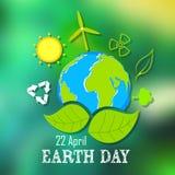 地球日概念 库存图片