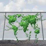 地球日概念 免版税库存照片