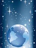 地球星形 免版税库存照片
