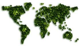 地球映射 免版税库存照片