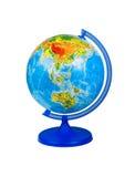 地球查出的白色 免版税库存图片