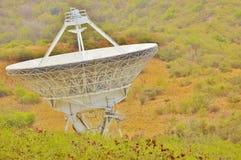 地球根据当班空间的雷达 库存照片
