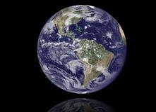 地球模型:美国视图 免版税库存照片