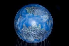 地球模型 图库摄影