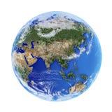 地球模型 免版税库存照片