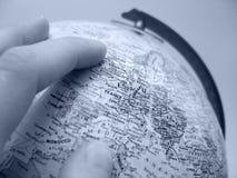 地球欧洲研究 库存照片