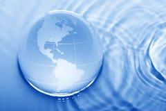 地球水 图库摄影