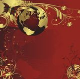 地球活行星 免版税库存照片
