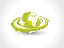 地球漩涡 库存例证