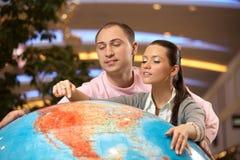 地球点 免版税图库摄影
