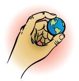 地球现有量藏品 免版税库存图片