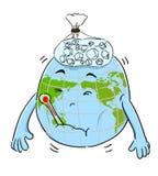 地球病残 皇族释放例证