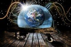 地球的保护 免版税库存图片